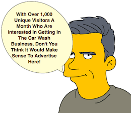 Advertise Here Graphic Simpson